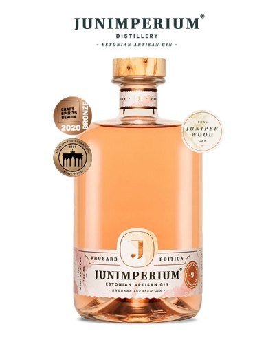 Junimperium Rhubarb Edition Gin