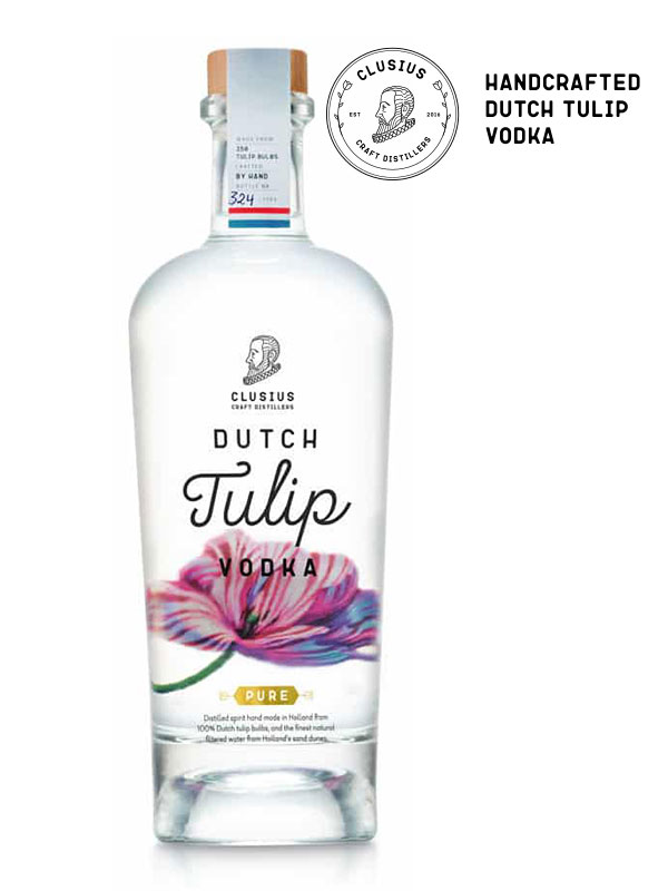Dutch Tulip Vodka PURE 70cl