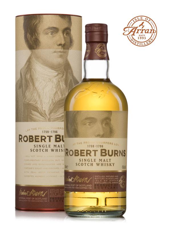 The Arran Distillery Burns Malt Whisky