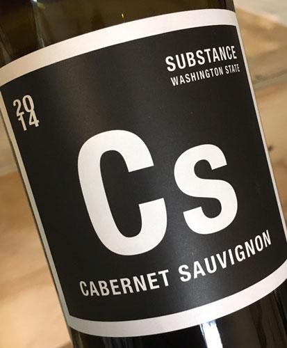 ワインズ・オブ・サブスタンス カベルネ・ソーヴィニヨン2014