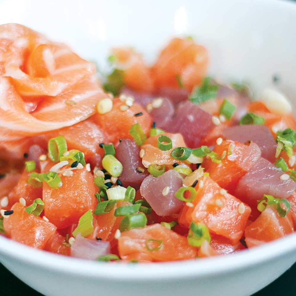 Tartar Misto - Delivery Sushi Rão, o Maior do Brasil. O melhor da Comida Japonesa na sua casa!