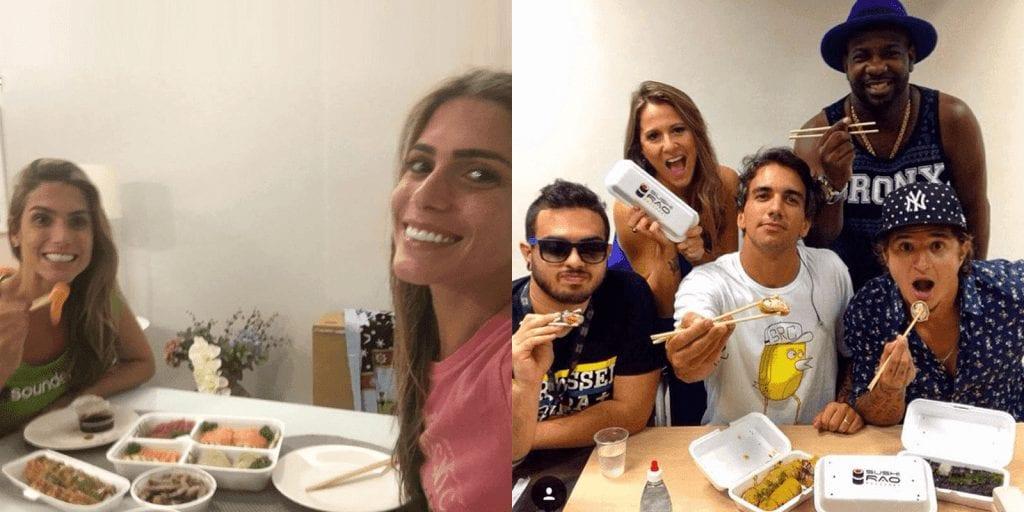 Bia e branca, clientes Sushi Rão - Delivery Sushi Rão, o Maior do Brasil. O melhor da Comida Japonesa na sua casa!