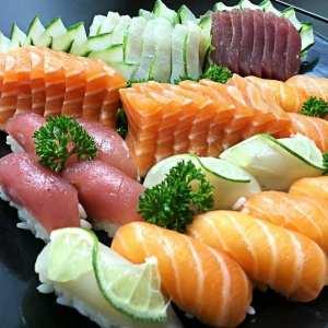 Promoção 16 Sushis ou Sashimis - Delivery Sushi Rão, o Maior do Brasil. O melhor da Comida Japonesa na sua casa!