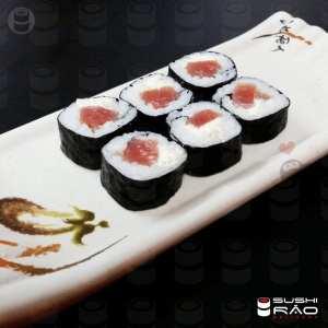 Roll Philadelphia de Atum - Delivery Sushi Rão, o Maior do Brasil. O melhor da Comida Japonesa na sua casa!