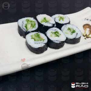 Roll Kappa Roll - Delivery Sushi Rão, o Maior do Brasil. O melhor da Comida Japonesa na sua casa!