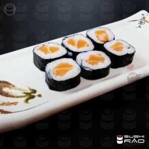 Roll Salmão Makki - Delivery Sushi Rão, o Maior do Brasil. O melhor da Comida Japonesa na sua casa!