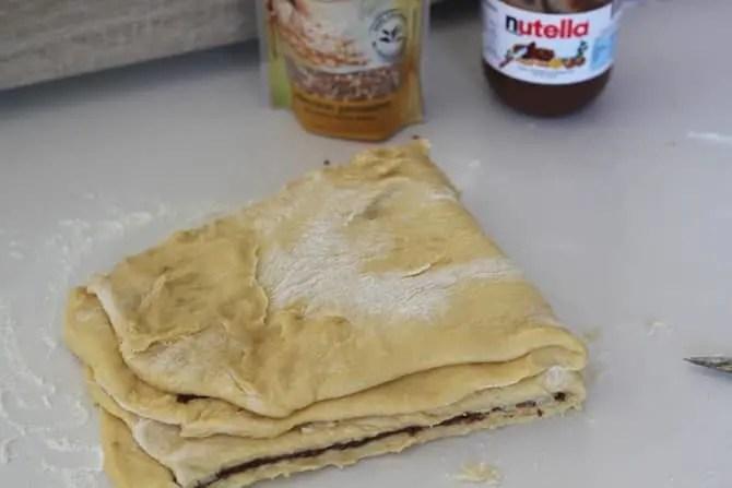Brioche tressée Nutella Pralin