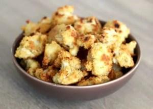 Chou-fleur croustillant au parmesan