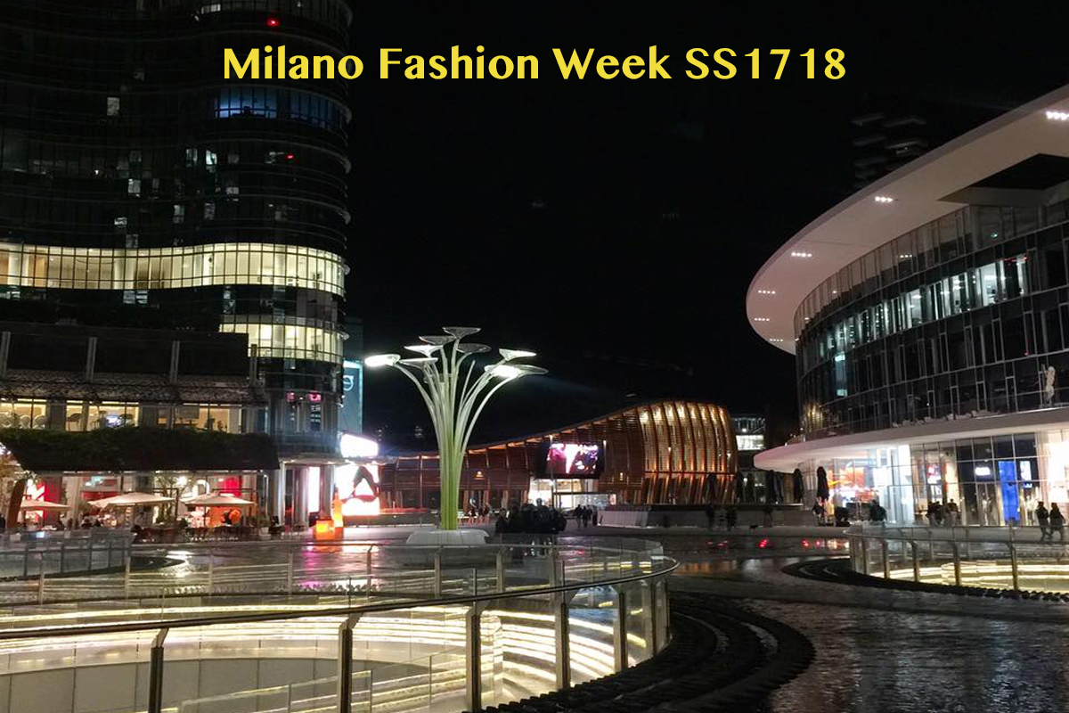 Milano Fashion Week SS1718