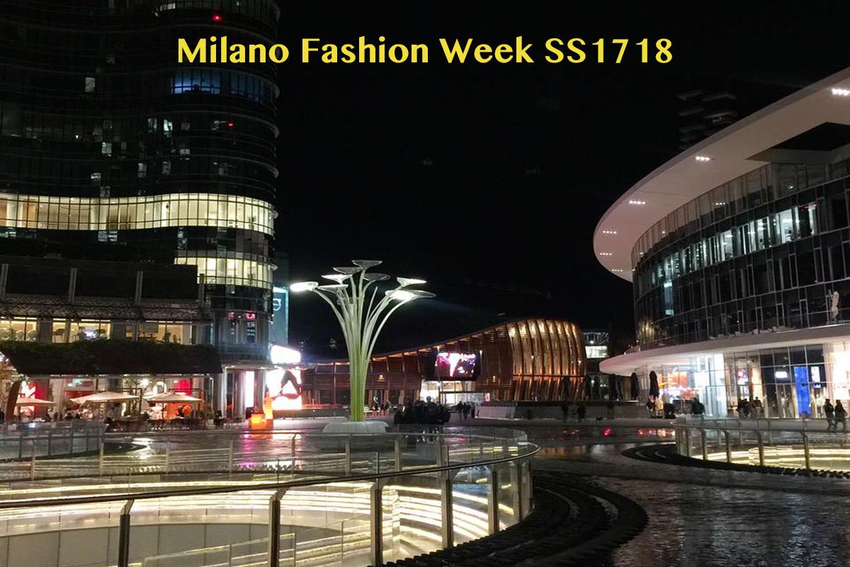 Milano Fashion Week SS1718