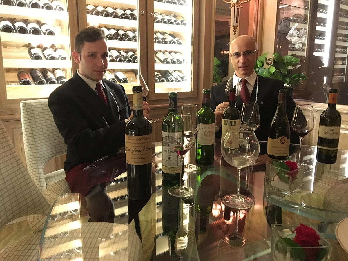 Fabrizio Colaianni e Luigi Miccheli