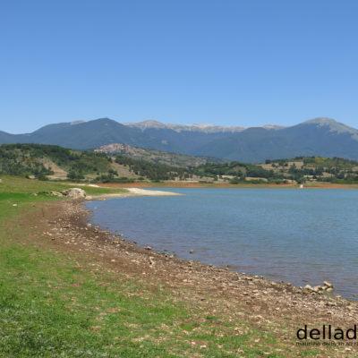Il lago di Canterno