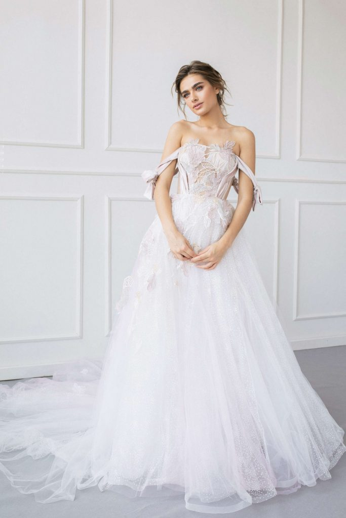 Dreamy princess wedding dress from Dell'Amore Bridal, Auckland, New Zealand