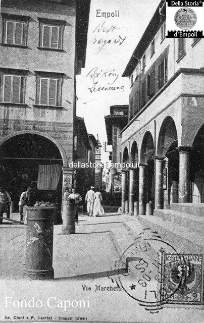Piazza Farinata degli Uberti e Canto Guelfo
