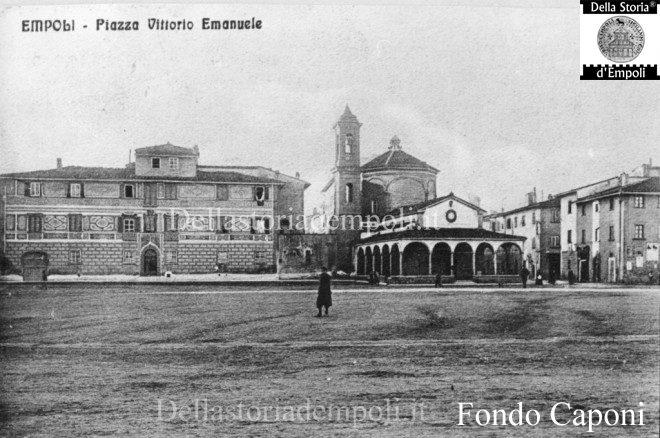 Fondo Caponi Empoli, Vol 1 Pagina 2: Piazza Vittorio Emanuele II°, Piaggione, Calasanzio, Ville Del Cotone E Terraio