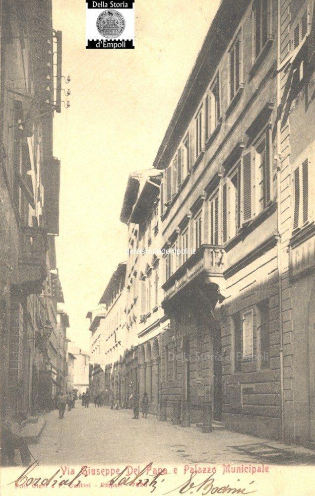 Cartolina Da Via Del Papa, Palazzo Comunale.