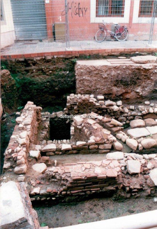 Empoli – Scavi Piazzetta Propositura 1999 4