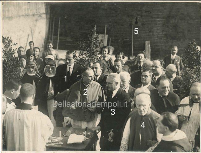 Posa Della Prima Pietra Di Un Edificio Scolastico SS. Annunziata 17 Aprile 1933 – Di Carlo Pagliai