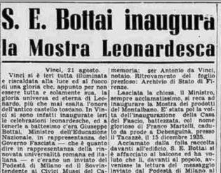 Fonte: La Stampa, pag 4 edita il 21 Ago 1939