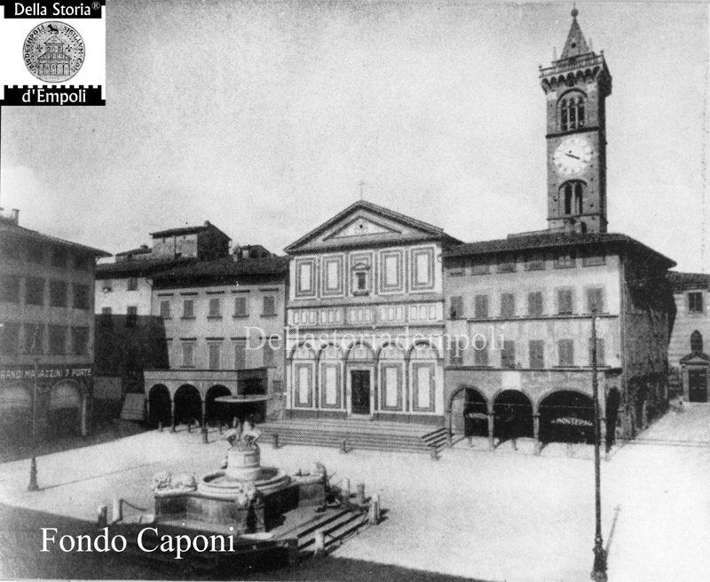 Fondo Caponi Empoli, Vol 1 Pagina 6: Piazza Dei Leoni, Palazzo Ghibellino, Via Del Giglio E Del Papa