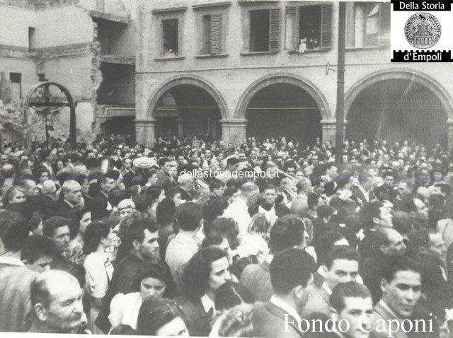 Fondo Caponi Empoli, Vol 2 Pagina 29: La Città Subito Dopoguerra