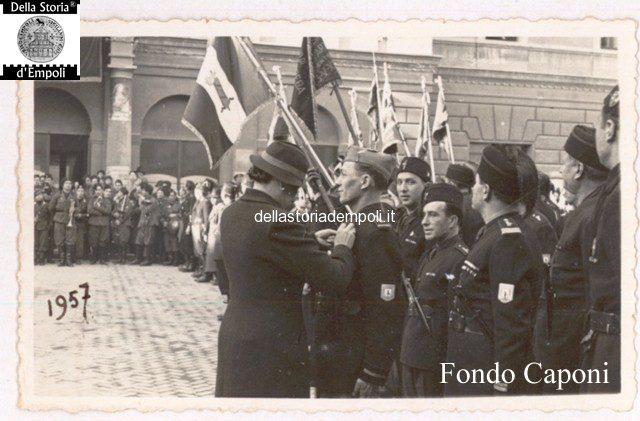 Adunata fascista in Piazza del Littorio oggi Piazza del Popolo