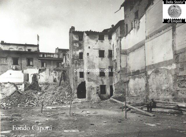Demolizione dell'ex quartiere ebraico per la futura Piazza del Littorio e Piazza del Popolo