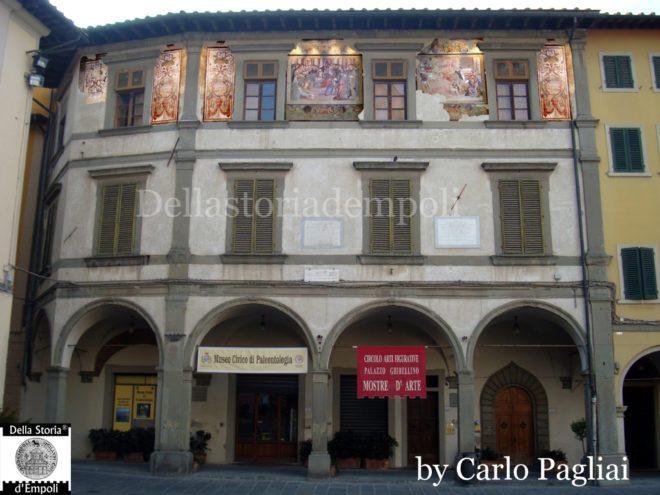 Empoli - Palazzo Ghibellino con affreschi 1024