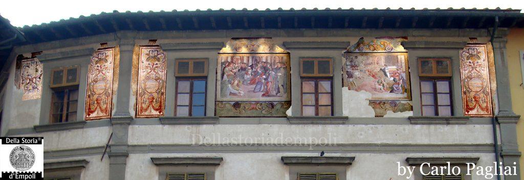 Gli Affreschi Di Palazzo Ghibellino, Parte Prima – Di Carlo Pagliai