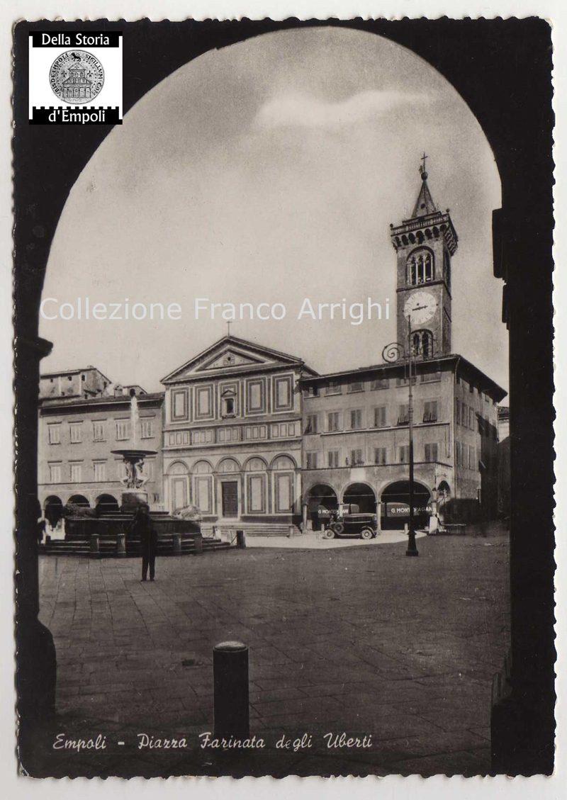 Empoli – Piazza Dei Leoni Anni 30 Montepagani 1