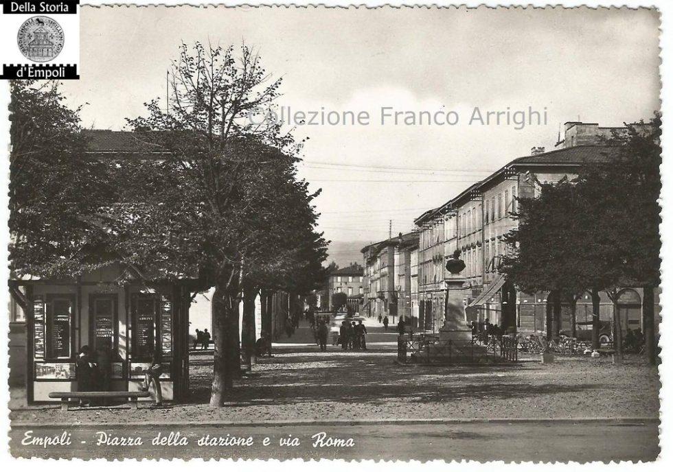 Empoli – Piazza della Stazione e via Roma di Franco Arrighi