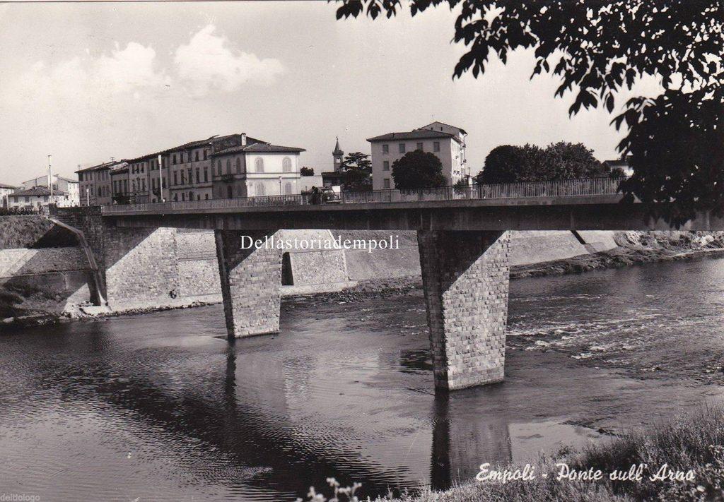 Il Vecchio Ponte, Foto Anteriore All'allovione Del 1966