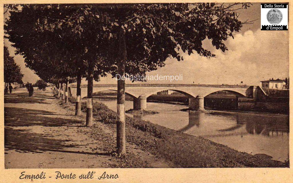 Empoli Ponte Vecchio Cartolina