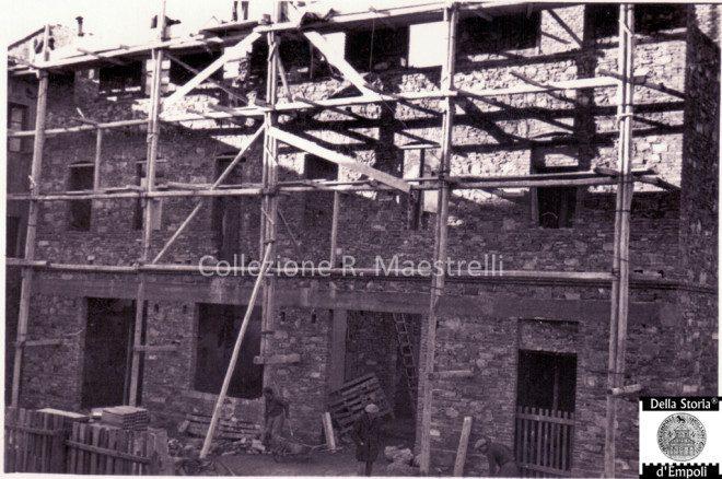 Empoli - Ricostruzione Via Marchetti incrocio Via Chiara 1949 da Roberta Maestrelli 2
