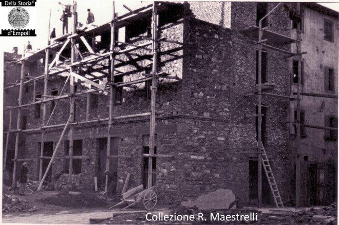 Empoli - Ricostruzione Via Marchetti incrocio Via Chiara 1949 da Roberta Maestrelli 5
