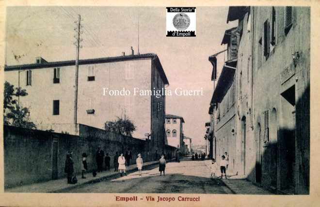 Istituto Calasanzio, Via Carrucci; foto di G. Guerri
