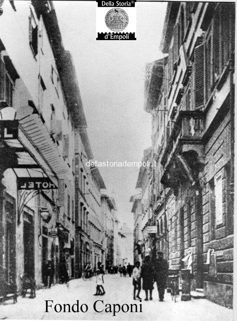 Fondo Caponi Empoli, Vol 1 Pagina 15: Per Le Vie Del Centro