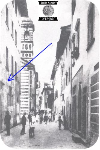 Empoli - Via Marchetti vicina all'incrocio con via Chiara