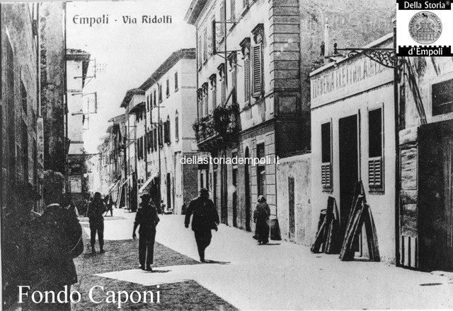 Empoli Via Ridolfi pressi incrocio Via Salvagnoli