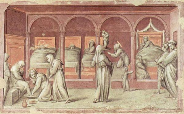 Episodio di vita ospedaliera, Jacopo Pontormo - 1514 - Wikipedia, dominio pubblico