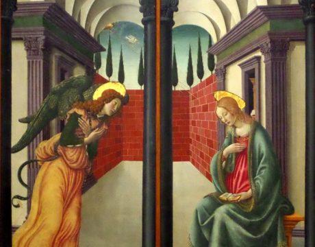 Francesco Botticini Annunciazione