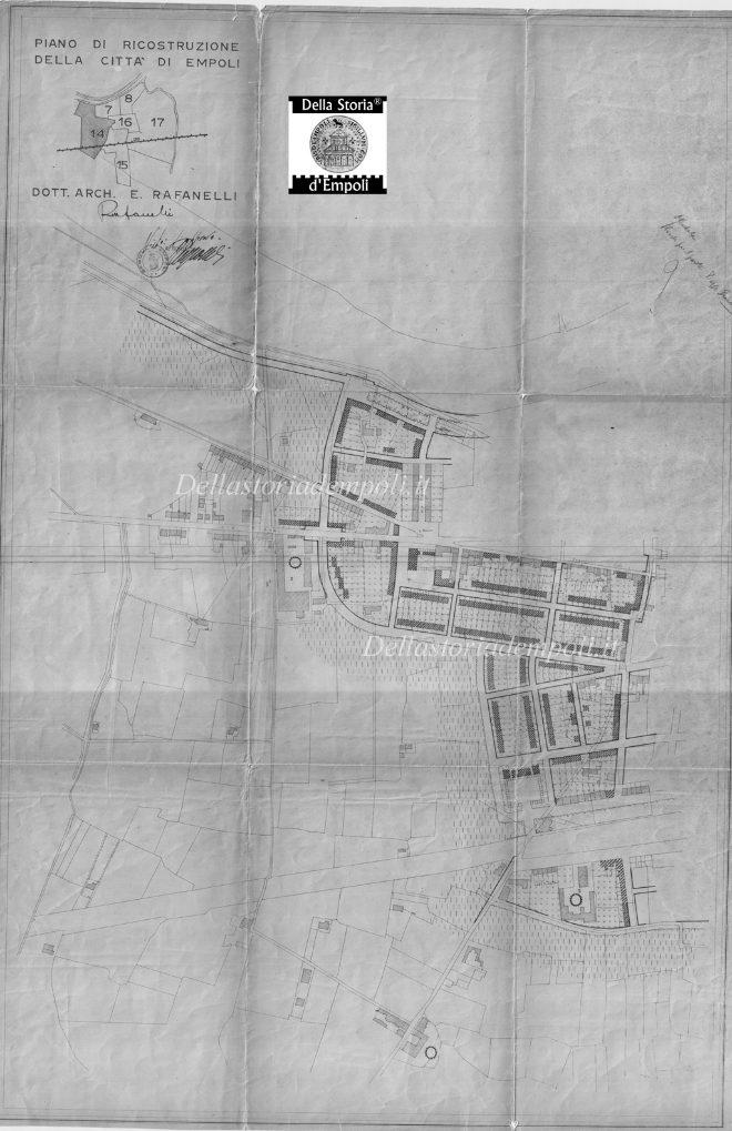 Piano Di Ricostruzione - Carraia, S. Donnino, Terra Santa