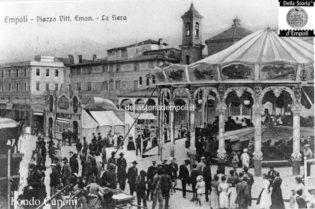 Piazza Vittorio Emanuele, la Madonna del Pozzo e le giostre della Fiera 2
