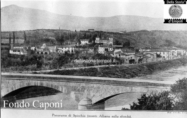 Ponte vecchio visto a valle da Empoli