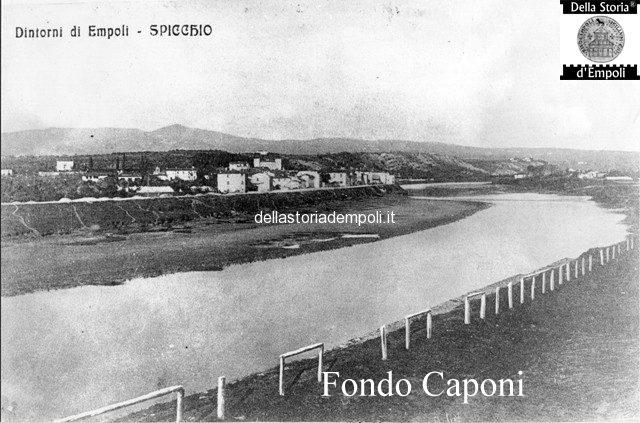 Spicchio e fiume Arno visti da Empoli