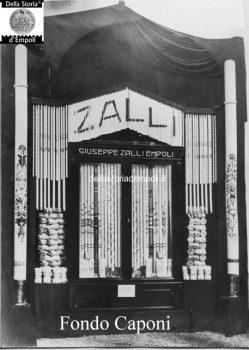 Vetrina del negozio Zalli
