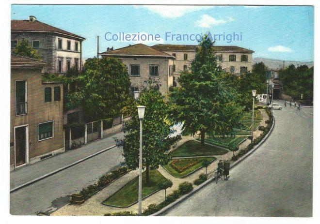 Via Mario Fabiani e il vecchio sottopasso ferroviario