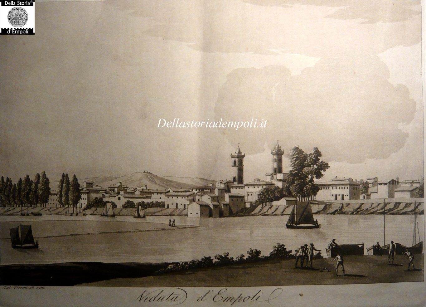 Viaggio Pittorico Della Toscana TERRENI 1803