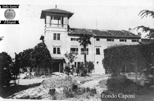Fondo Caponi Empoli, Vol 1 Pagina 3: Via Chiara E Le Ville Extraurbane
