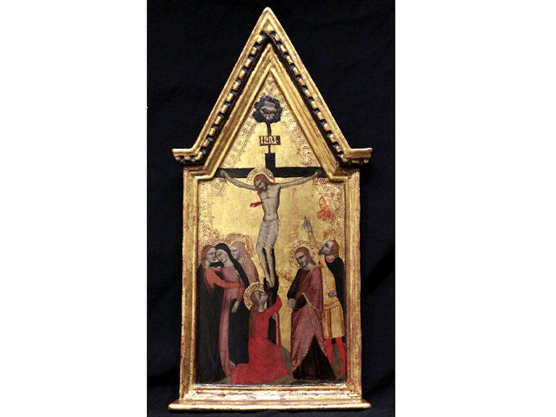 La Crocifissione, Tavola Di Niccolò Di Tommaso